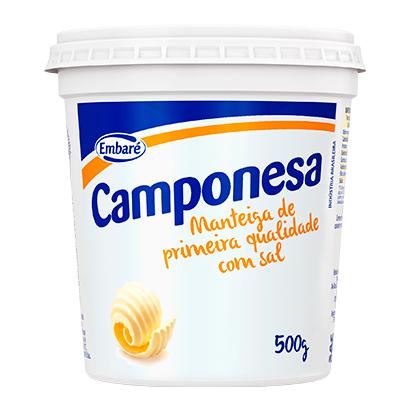 MANTEIGA CAMPONESA 500G