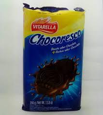 BISC RECH TRELOSO 390G CHOC/CHOCOLATE