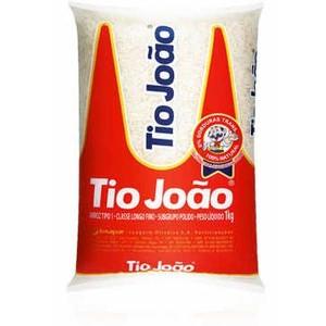 ARROZ TIO JOÃO BRANCO 1K