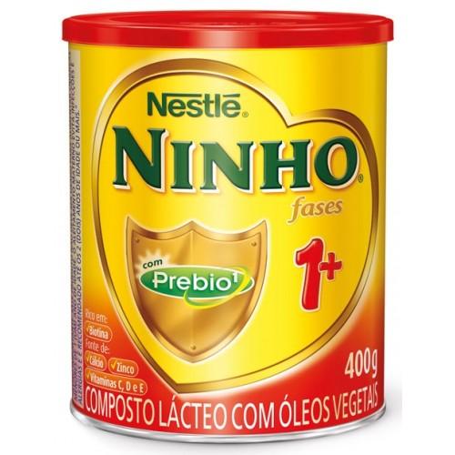 LEITE EM PO NINHO 1+ 400G