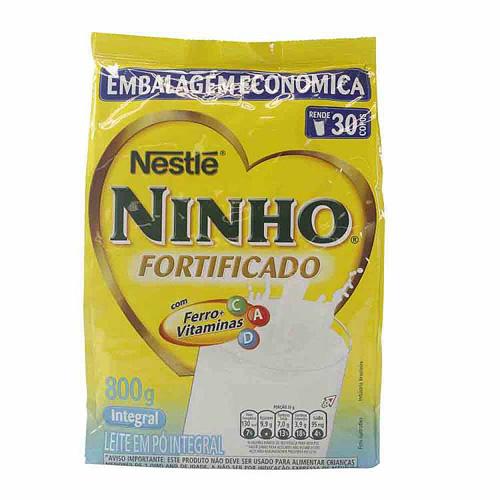 LEITE EM PO NINHO INTEGRAL 800G
